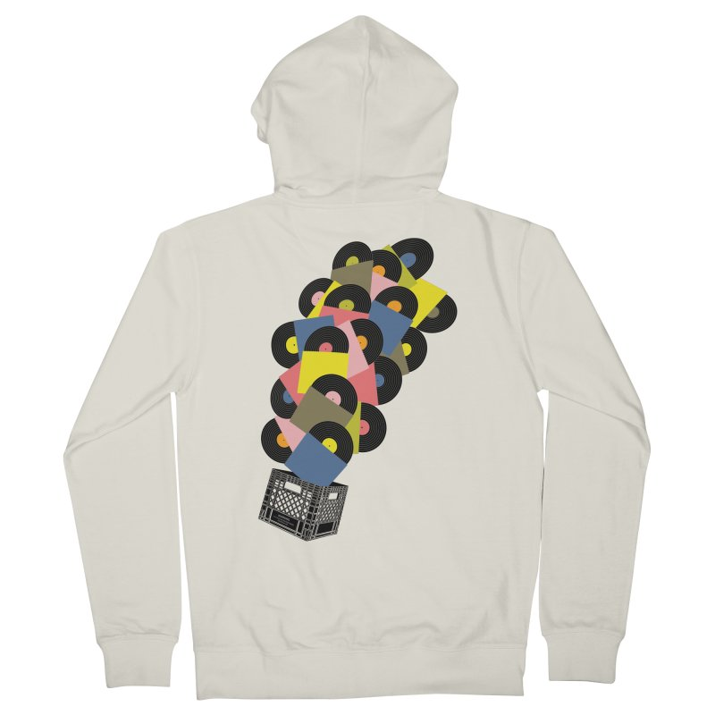 Untitled (Hi-Fidelity) Women's Zip-Up Hoody by Chick & Owl Artist Shop