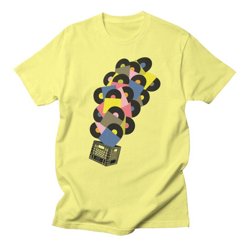 Untitled (Hi-Fidelity) Men's T-shirt by Chick & Owl Artist Shop