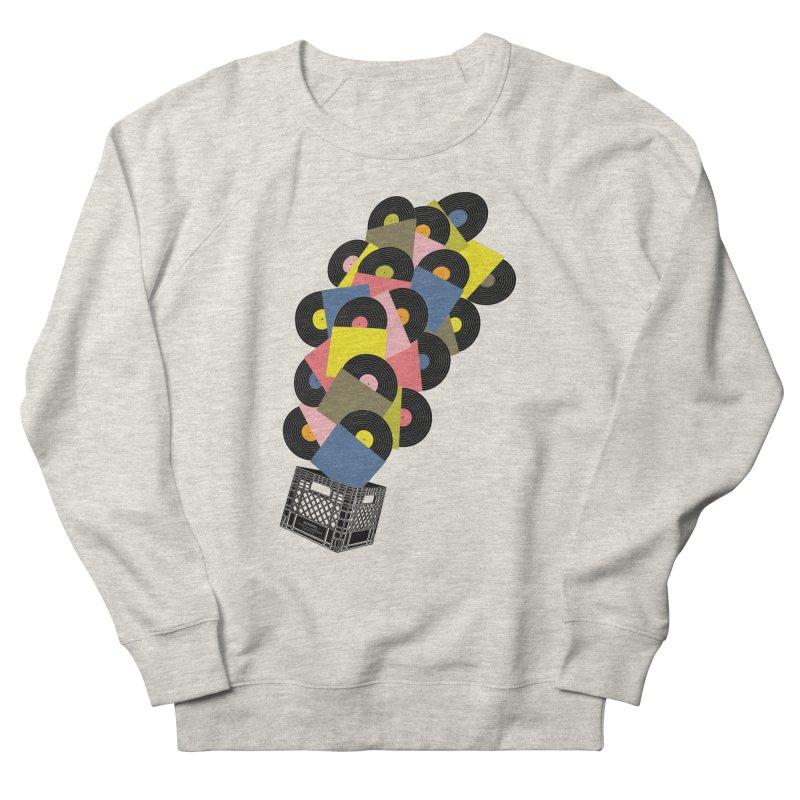 Untitled (Hi-Fidelity) Men's French Terry Sweatshirt by Chick & Owl Artist Shop