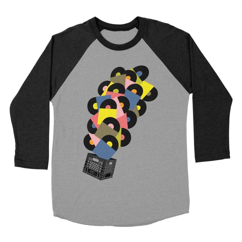 Untitled (Hi-Fidelity) Women's Baseball Triblend Longsleeve T-Shirt by Chick & Owl Artist Shop