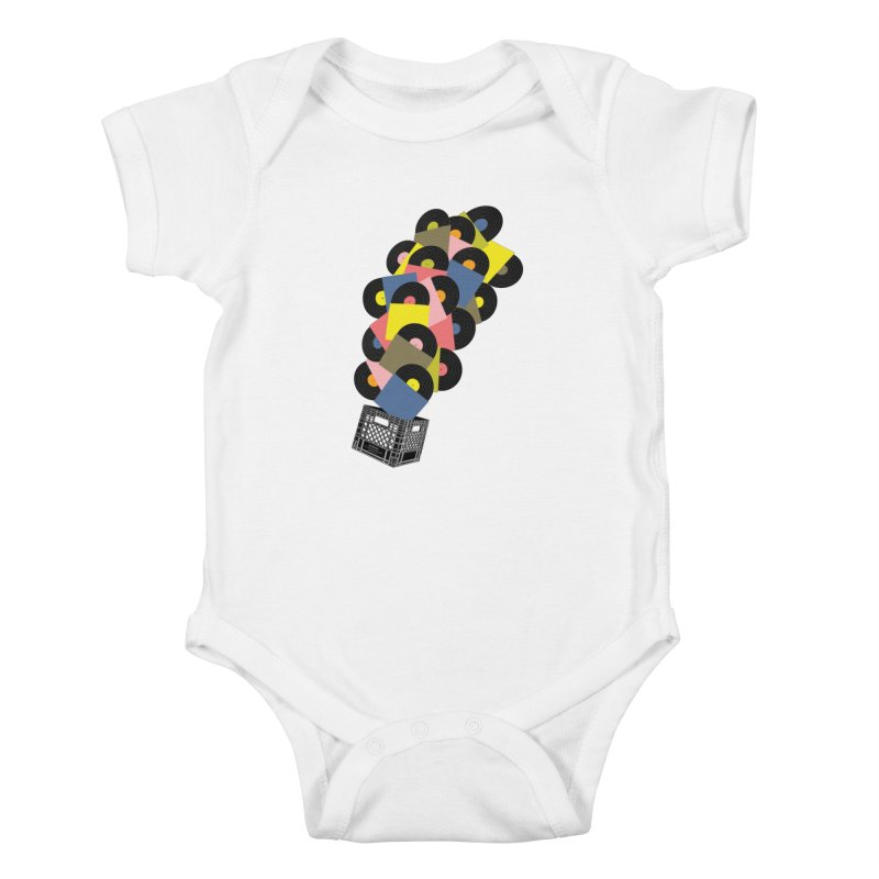 Untitled (Hi-Fidelity) Kids Baby Bodysuit by Chick & Owl Artist Shop