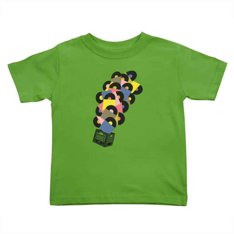 Untitled (Hi-Fidelity) Kids Toddler T-Shirt by Chick & Owl Artist Shop
