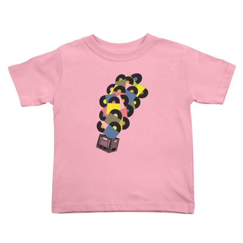 Untitled (Hi-Fidelity) Kids Toddler T-Shirt by Chick & Owl Artist Shop