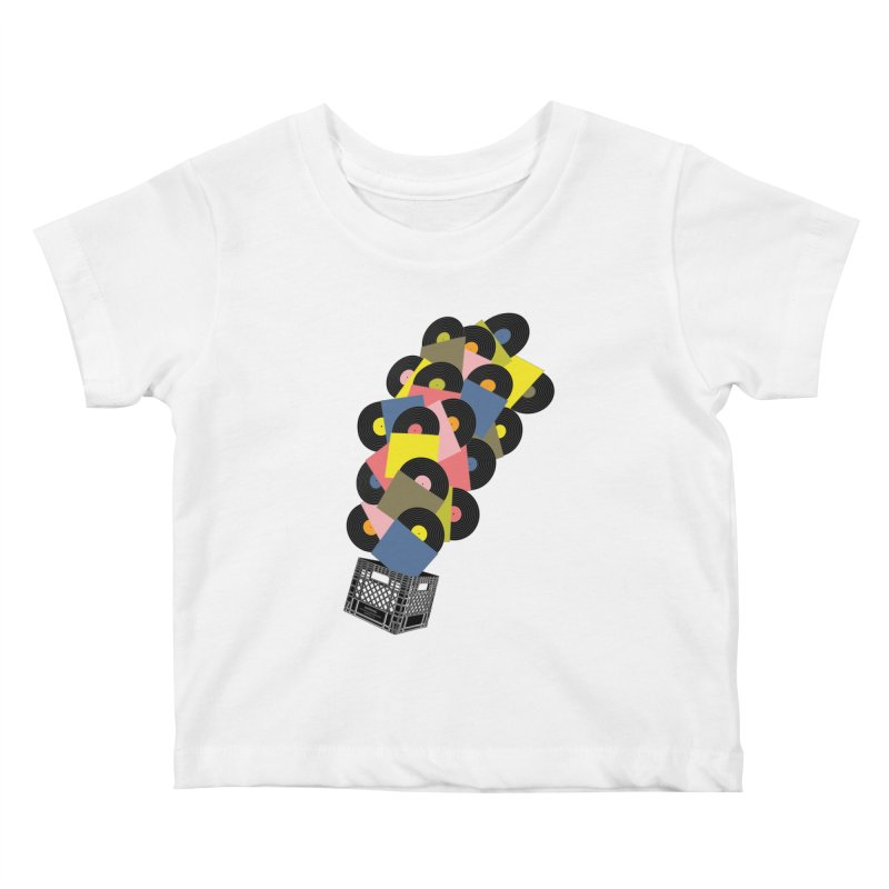 Untitled (Hi-Fidelity) Kids Baby T-Shirt by Chick & Owl Artist Shop