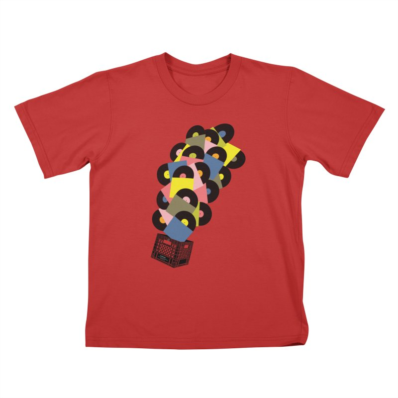 Untitled (Hi-Fidelity) Kids T-Shirt by Chick & Owl Artist Shop