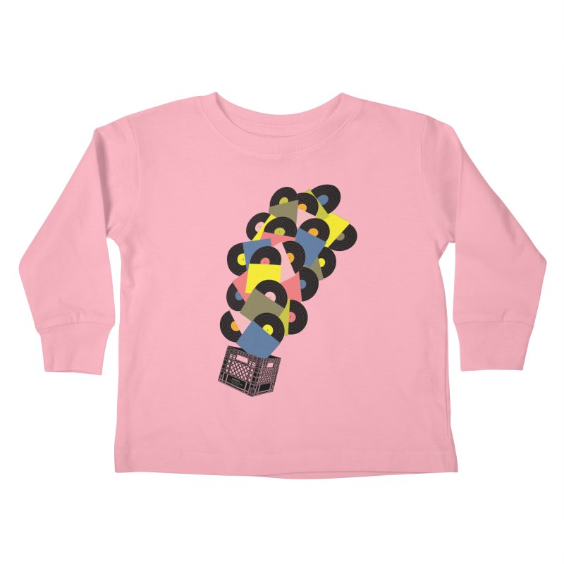 Untitled (Hi-Fidelity) Kids Toddler Longsleeve T-Shirt by Chick & Owl Artist Shop