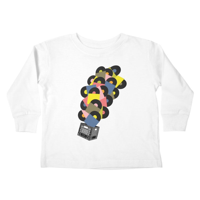 Untitled (Hi-Fidelity) Kids Toddler Longsleeve T-Shirt by Chick & Owl Artist Shop