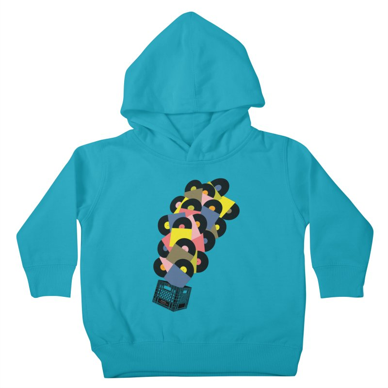 Untitled (Hi-Fidelity) Kids Toddler Pullover Hoody by Chick & Owl Artist Shop