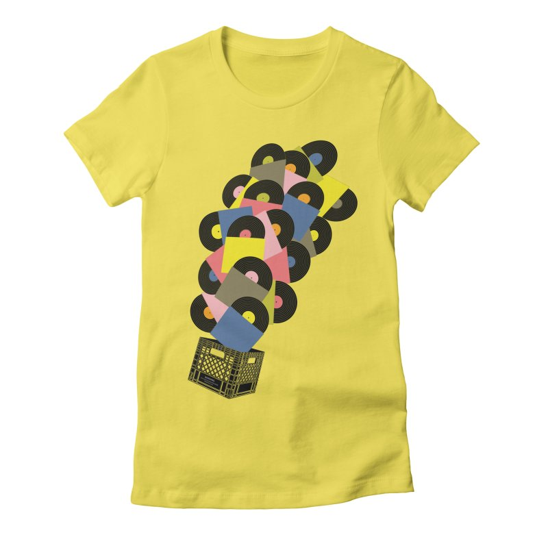 Untitled (Hi-Fidelity) Women's T-Shirt by Chick & Owl Artist Shop