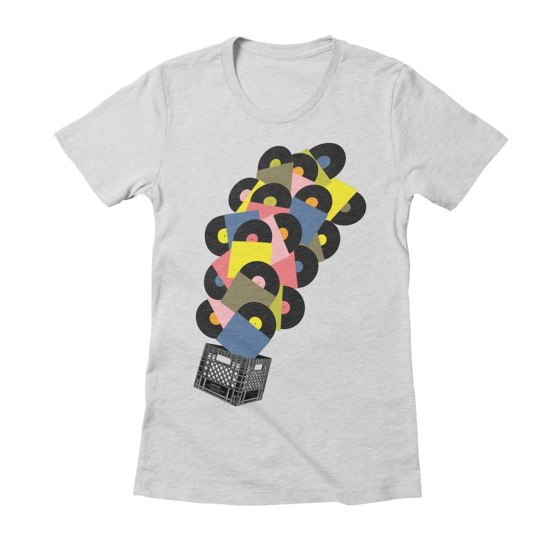 Untitled (Hi-Fidelity) Women's Fitted T-Shirt by Chick & Owl Artist Shop