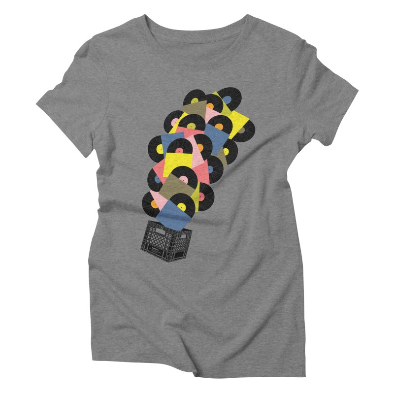 Untitled (Hi-Fidelity) Women's Triblend T-Shirt by Chick & Owl Artist Shop