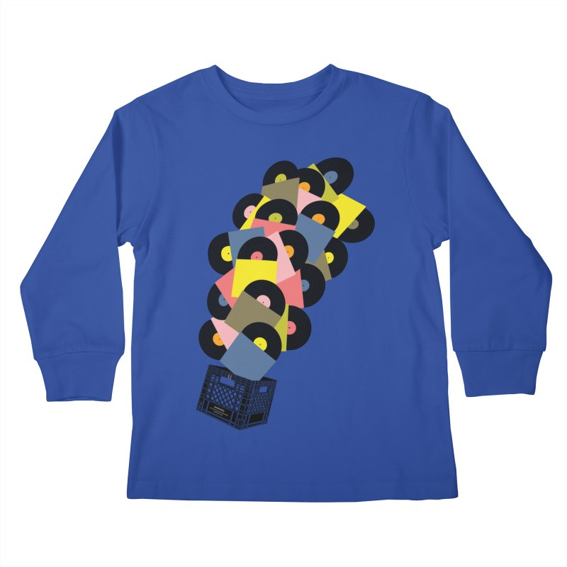 Untitled (Hi-Fidelity) Kids Longsleeve T-Shirt by Chick & Owl Artist Shop
