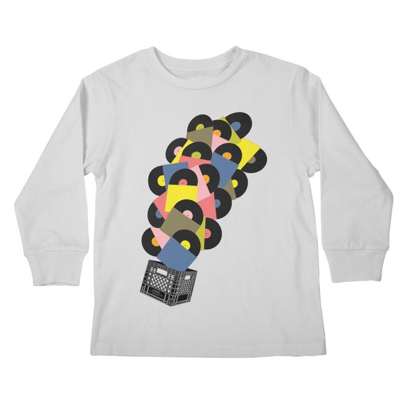 Untitled (Hi-Fidelity) Kids Longsleeve T-Shirt by Chick & Owl Artist Shop