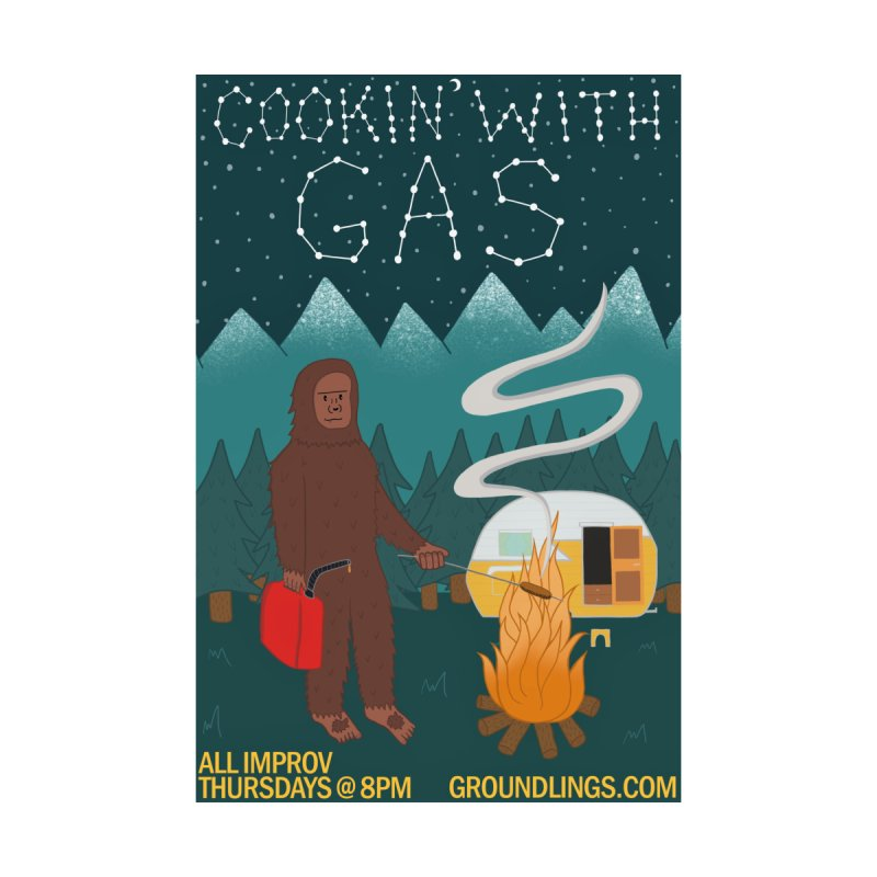 Cookin' with Gas Women's Pullover Hoody by The Groundlings' Shop