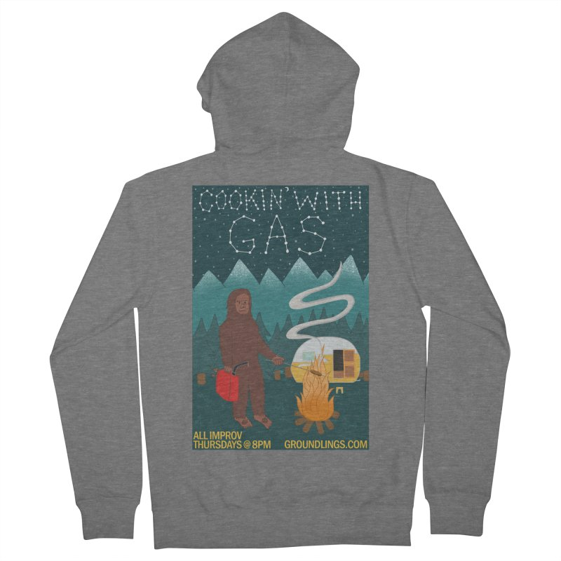 Cookin' with Gas Women's Zip-Up Hoody by The Groundlings' Shop