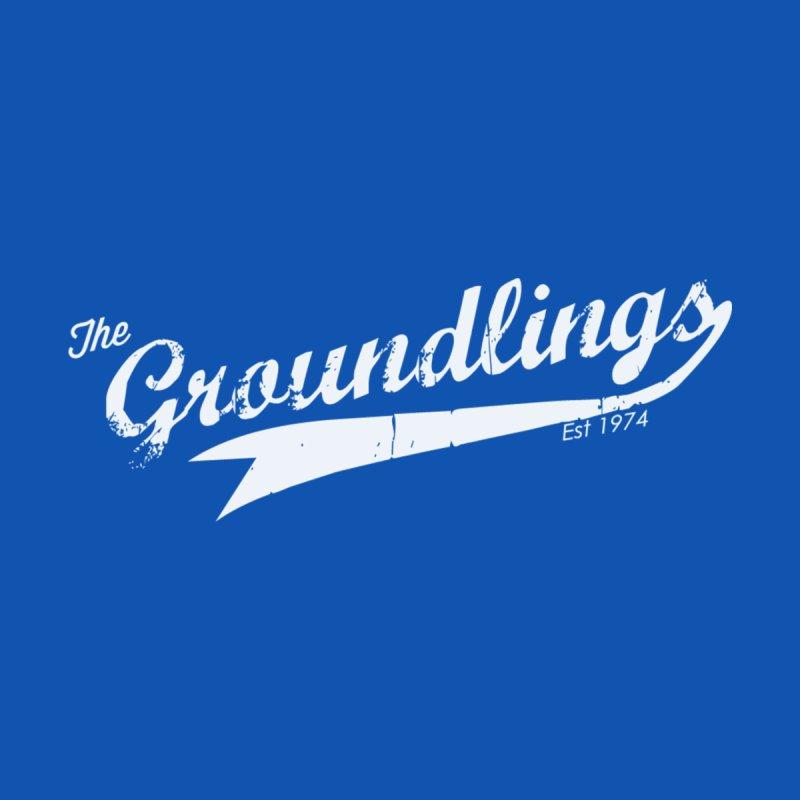 Groundlings Baseball Font Kids Baby Bodysuit by The Groundlings' Shop