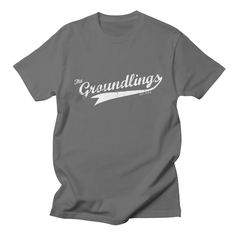 Groundlings Baseball Font Men's T-Shirt by The Groundlings' Shop
