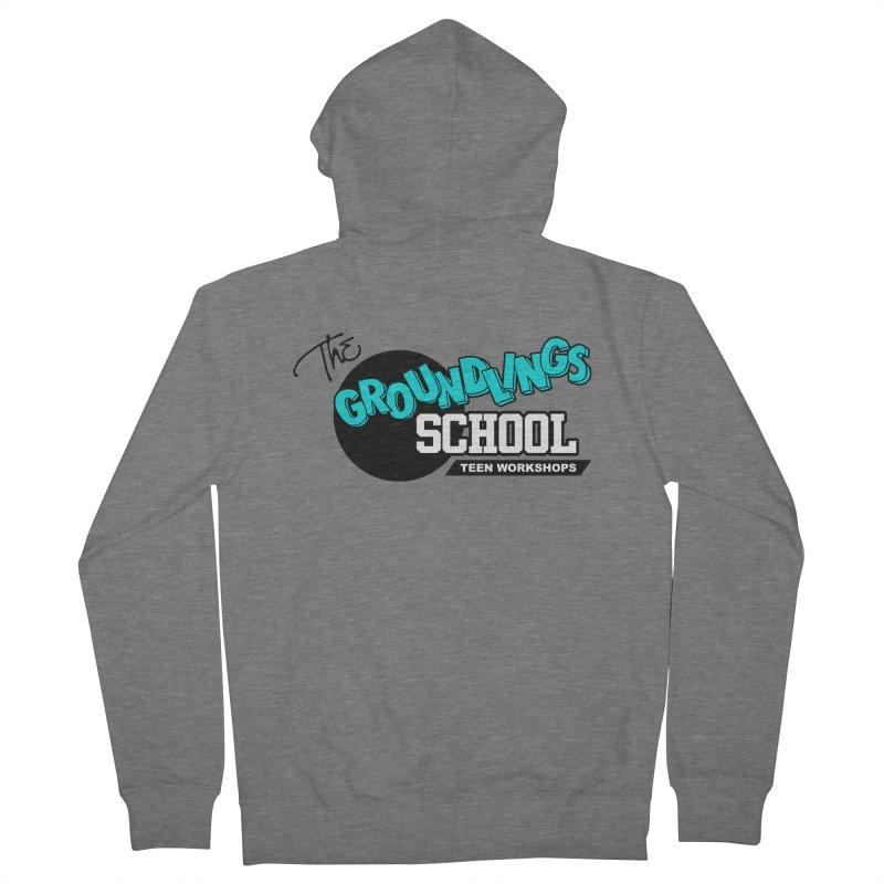 The Groundlings School Teen Workshops Women's Zip-Up Hoody by The Groundlings' Shop