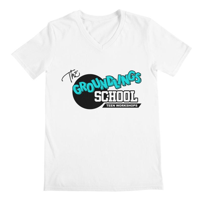 The Groundlings School Teen Workshops Men's V-Neck by The Groundlings' Shop