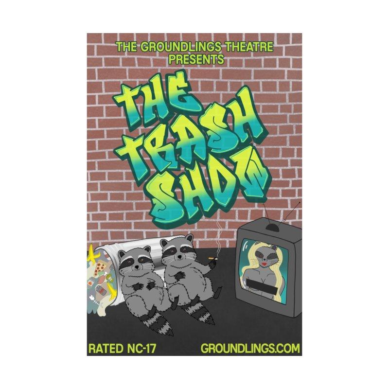The Trash Show Men's V-Neck by The Groundlings' Shop