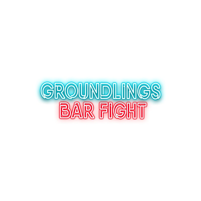 Groundlings Bar Fight Men's T-Shirt by The Groundlings' Shop