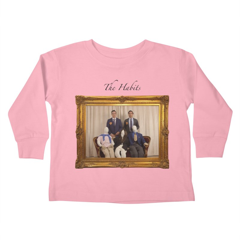 What's The Worst That Could Happen? (name in black) Kids Toddler Longsleeve T-Shirt by The Habits Official Merch