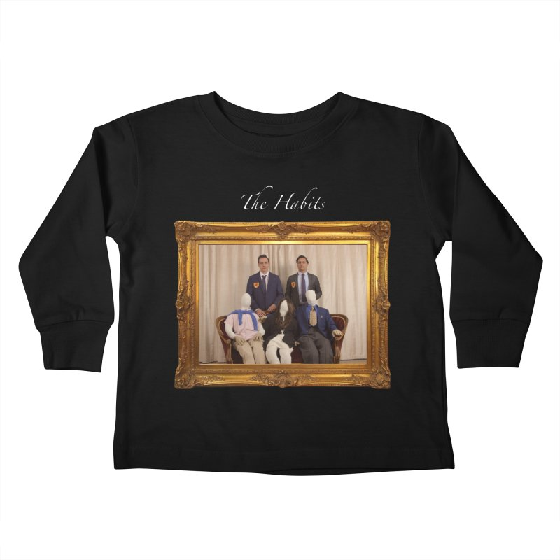 What's The Worst That Could Happen? (name in white) Kids Toddler Longsleeve T-Shirt by The Habits Official Merch