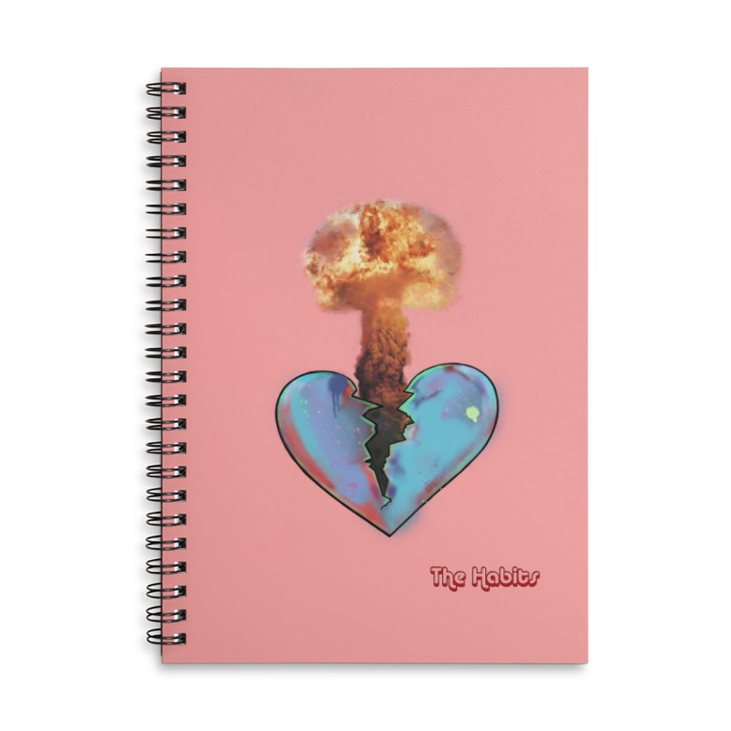 Nuke Heart Notebook Accessories Notebook by The Habits Official Merch