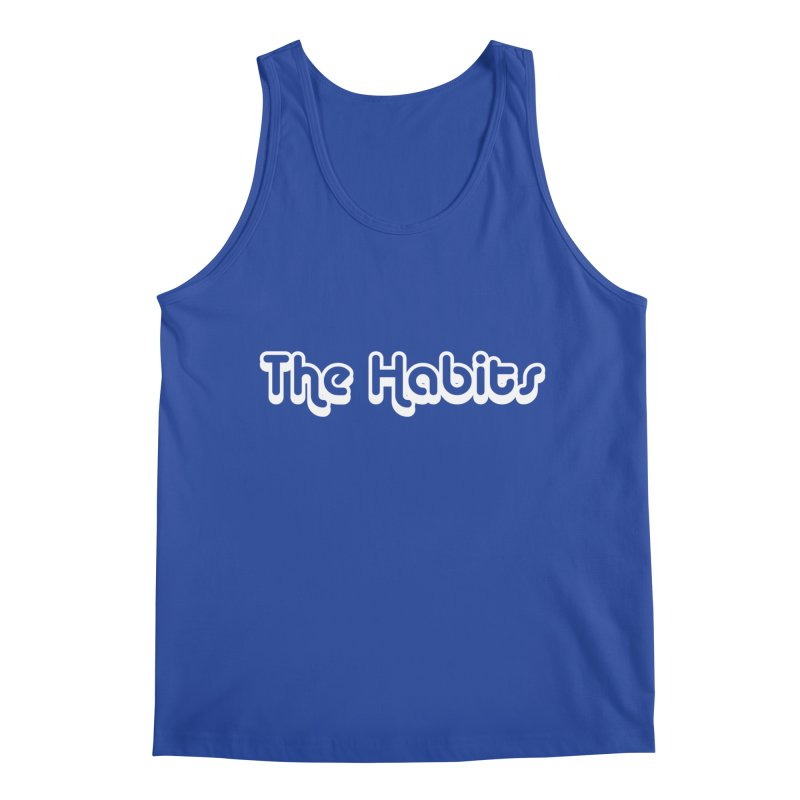 The Habits (white outline) Men's Tank by The Habits Official Merch