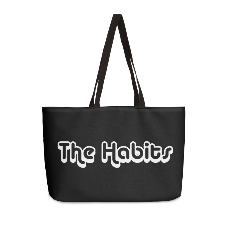 The Habits (white outline) Accessories Bag by The Habits Official Merch