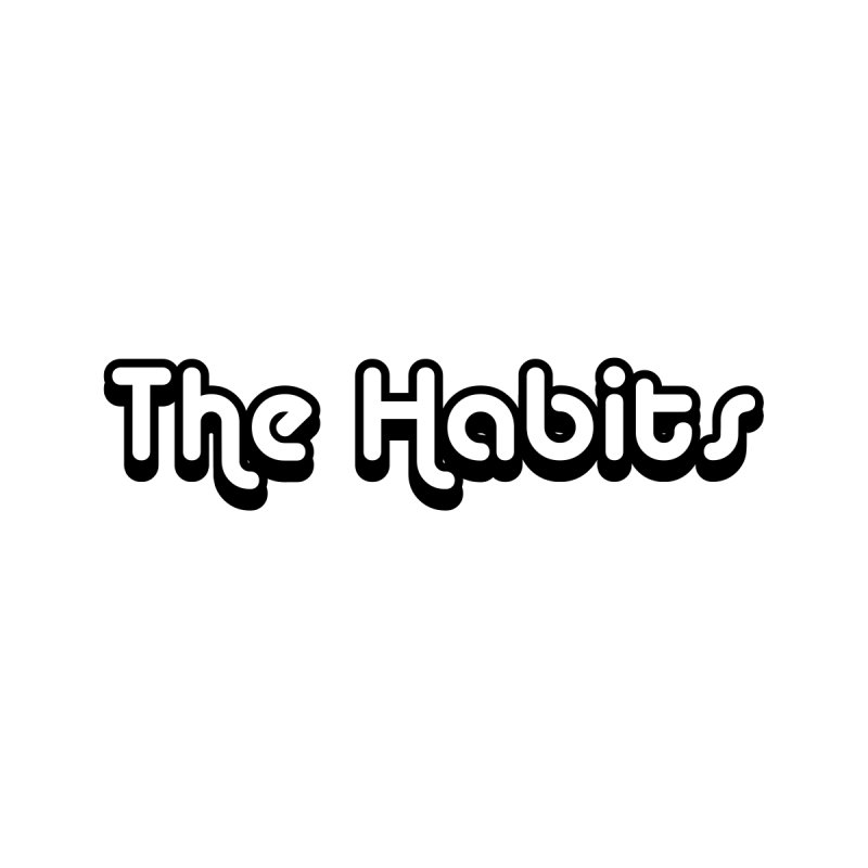 The Habits (black outline) Accessories Face Mask by The Habits Official Merch