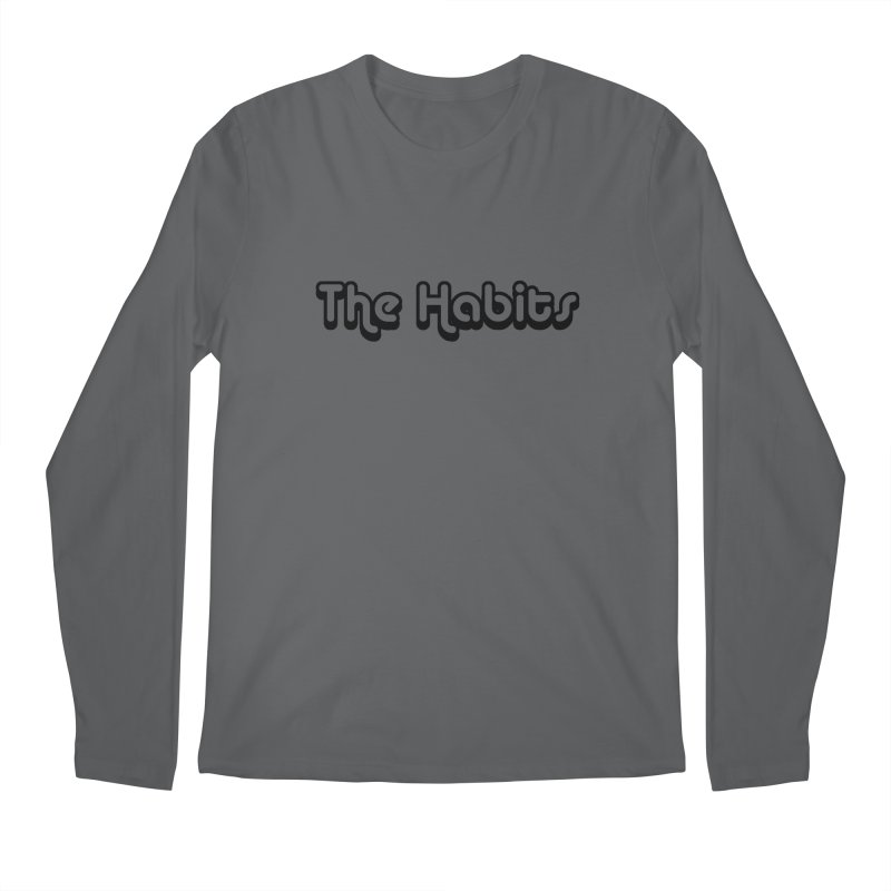 The Habits (black outline) Men's Longsleeve T-Shirt by The Habits Official Merch