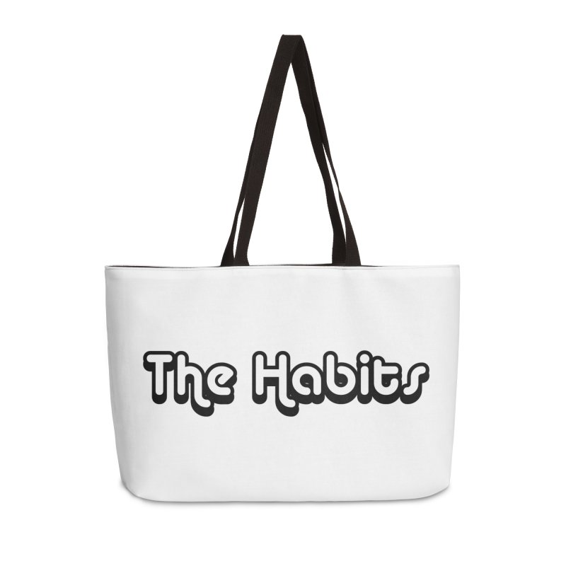 The Habits (black outline) Accessories Bag by The Habits Official Merch