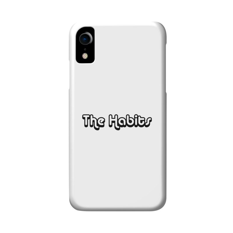 The Habits (black outline) Accessories Phone Case by The Habits Official Merch