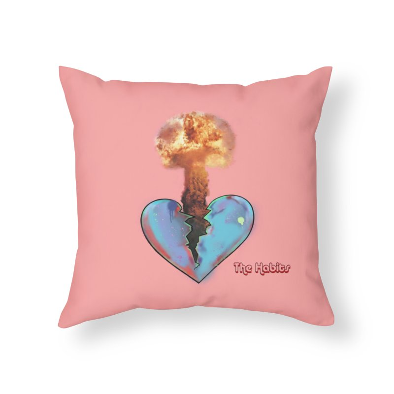 Pillow Home Throw Pillow by The Habits Official Merch