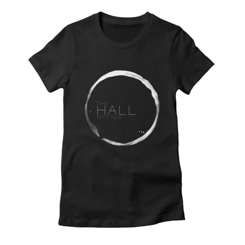 The Hall Method in Women's Fitted T-Shirt Black by The Hall Method