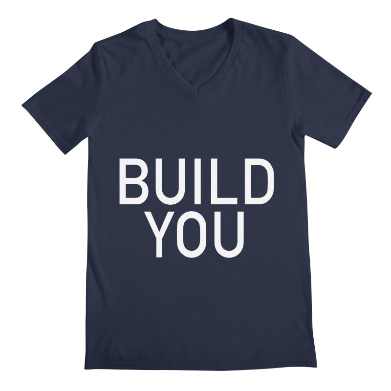 BUILD YOU Men's Regular V-Neck by The Hall Method