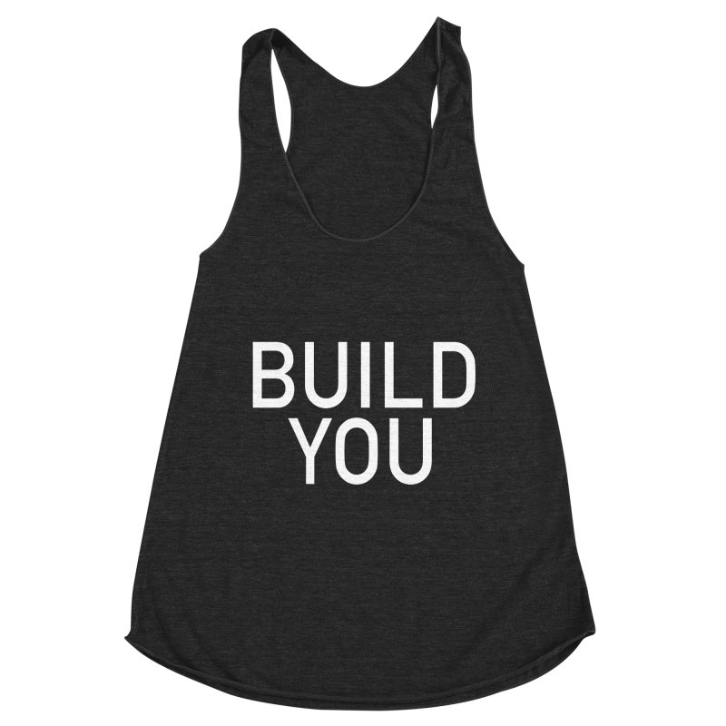 BUILD YOU Women's Racerback Triblend Tank by The Hall Method