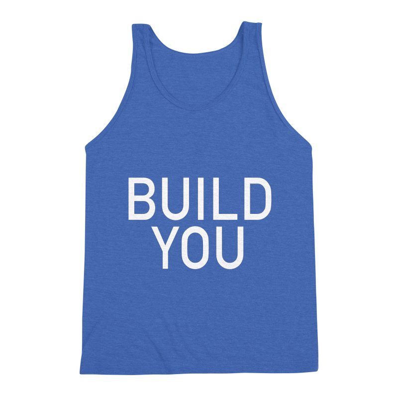 BUILD YOU Men's Triblend Tank by The Hall Method