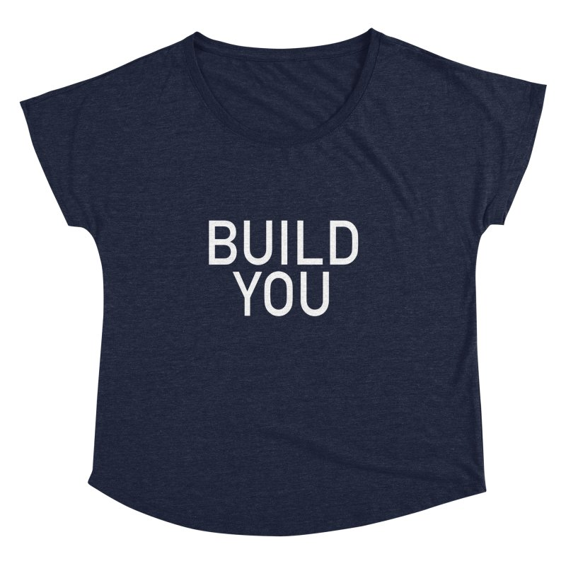 BUILD YOU Women's Dolman Scoop Neck by The Hall Method