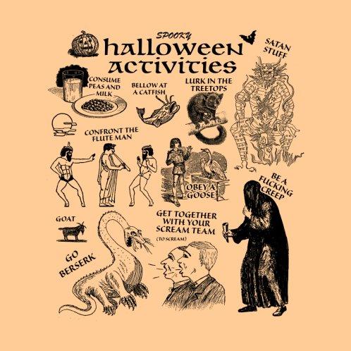 Design for Halloween Activities