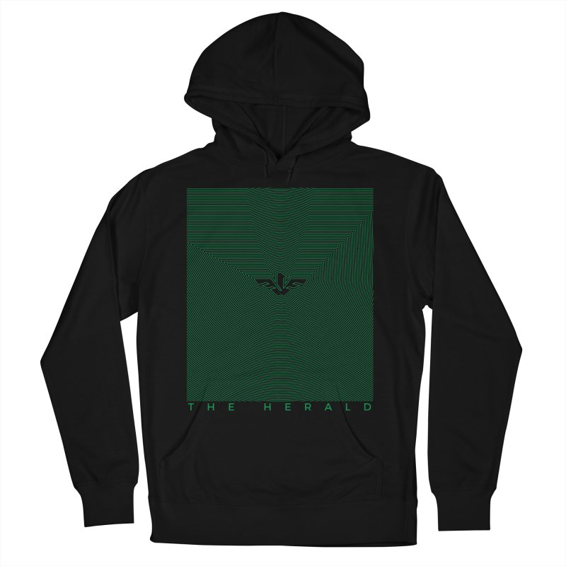 The Herald Men's French Terry Pullover Hoody by theheraldmusic's Artist Shop
