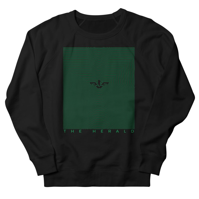 The Herald Men's French Terry Sweatshirt by theheraldmusic's Artist Shop