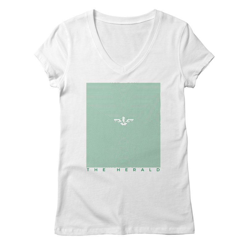 The Herald Women's Regular V-Neck by theheraldmusic's Artist Shop