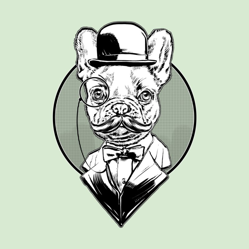 Frenchie by theillustrator's Artist Shop