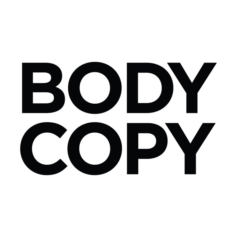 Body Copy by The Incumbent Agency