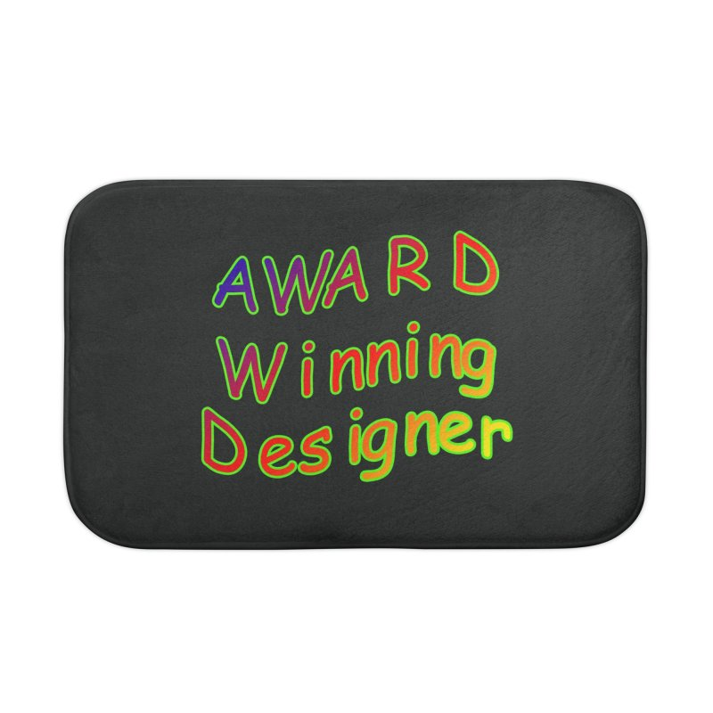 Award Winning Designer Home Bath Mat by The Incumbent Agency