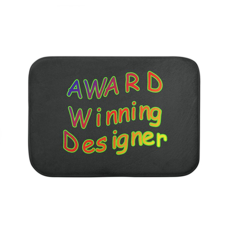 Award Winning Designer Home Bath Mat by The Incumbent Agency