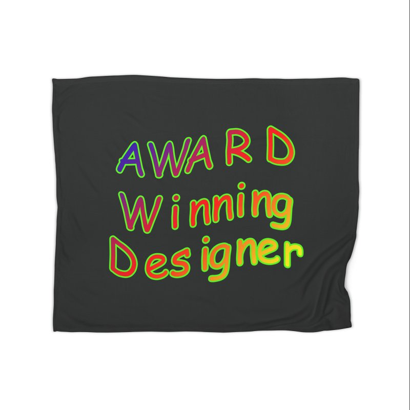 Award Winning Designer Home Fleece Blanket Blanket by The Incumbent Agency