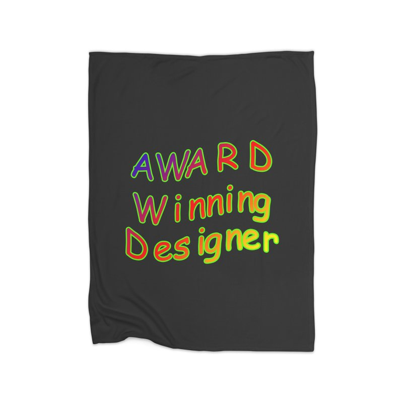 Award Winning Designer Home Blanket by The Incumbent Agency